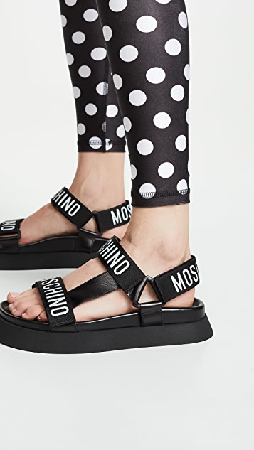 Moschino Travel Sandals