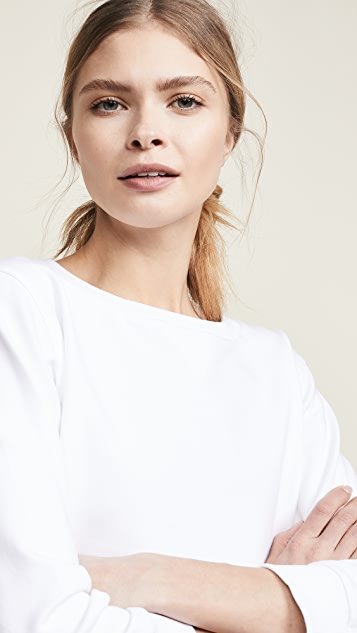 Moschino Cropped Sweatshirt