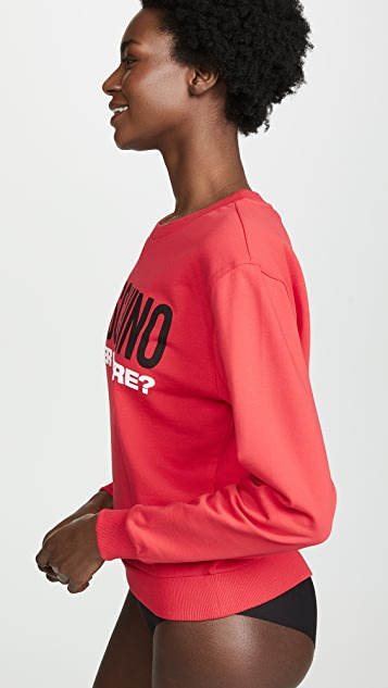 Moschino Under Where Sweatshirt