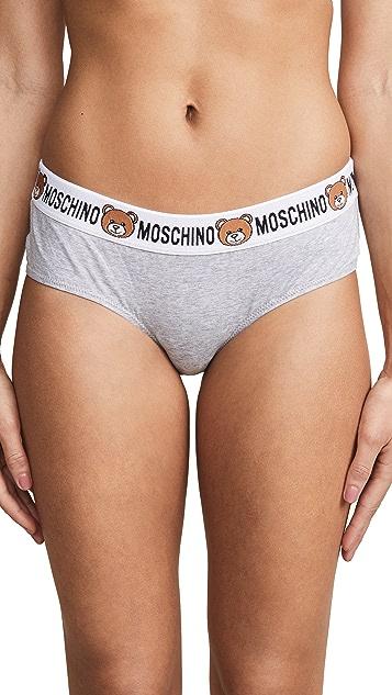 Moschino 徽标短内裤