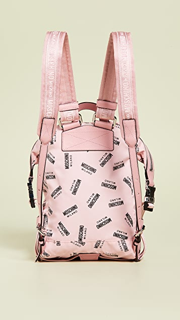 Moschino Print Sporty Moschino Backpack