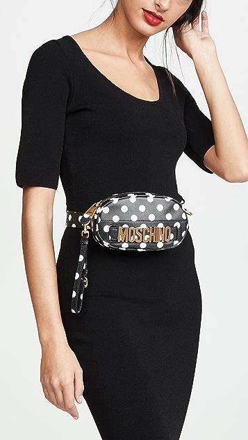 Moschino Polka Dots Moschino Belt Bag