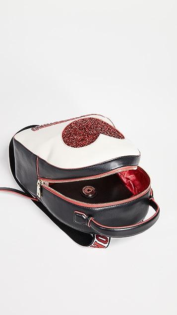 Moschino Love Moschino Sequin Heart Backpack