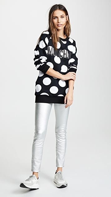 Moschino Polka Dot Sweatshirt