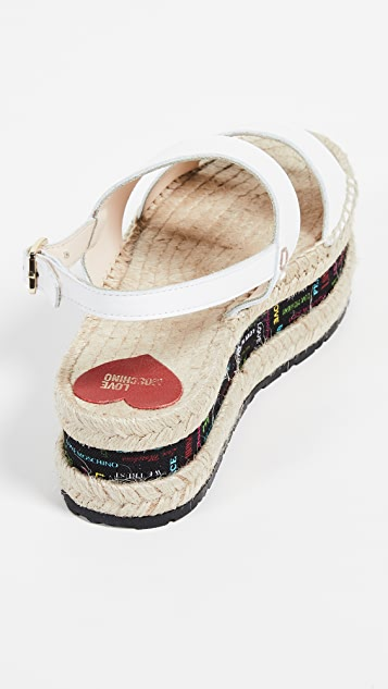 Moschino Rope Sandals