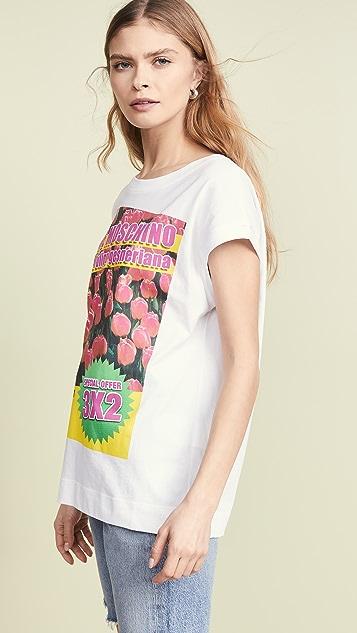 Moschino Love Moschino 郁金香 T 恤