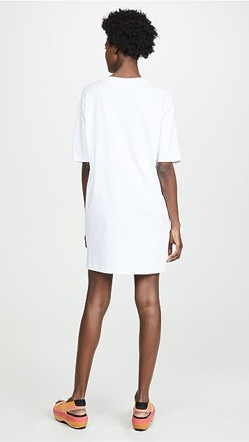 Moschino Love Moschino Oversize T-Shirt Dress