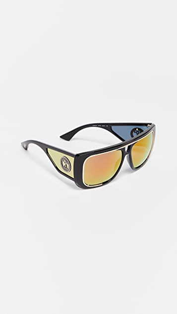 Moschino Oversized Shield Sunglasses