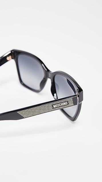 Moschino Classic Square Sunglasses