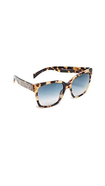 Moschino Classic Square Sunglasses