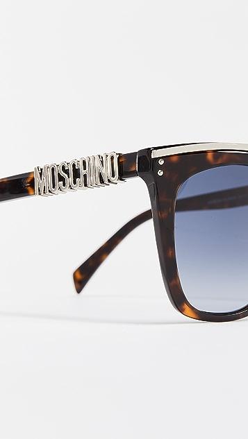 2062da9aebd2 Moschino Oversized Square Sunglasses | SHOPBOP