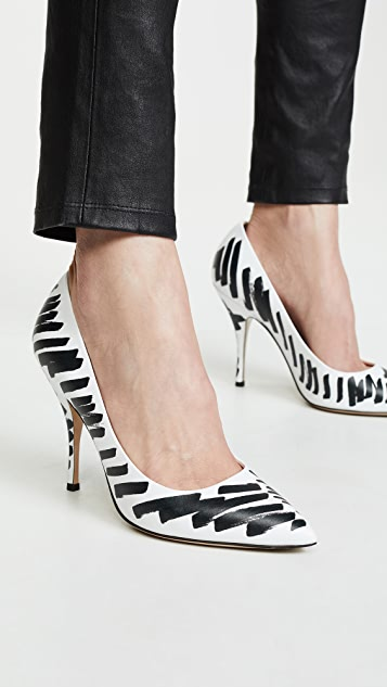 Moschino Scribble Pumps