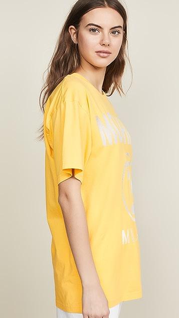 Moschino Moschino Oversize Logo T-Shirt