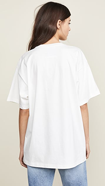 Moschino Moschino Bear Oversized T-Shirt