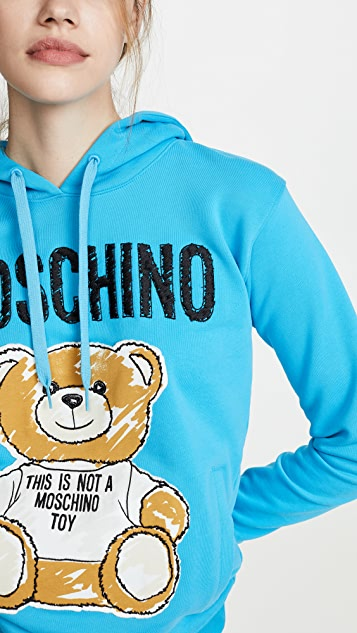 Moschino Толстовка с капюшоном Bear
