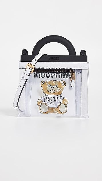 Moschino Сумка для покупок New Teddy