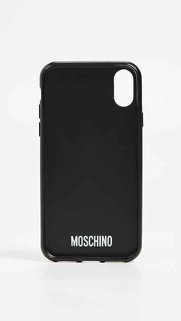 Moschino iPhone X Case