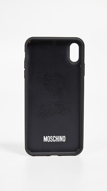 Moschino Moschino Bear iPhone XS Max Case