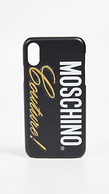 Moschino Moschino Couture! iPhone XS / X Case