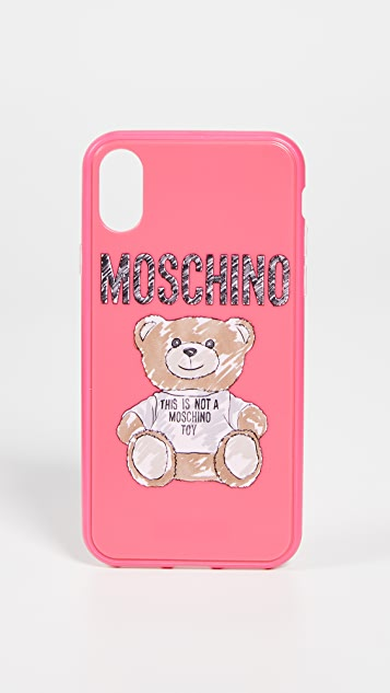 innovative design e6145 08eba Moschino Bear iPhone X / XS Case