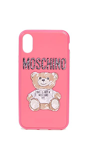Moschino Moschino Bear iPhone X / XS Case