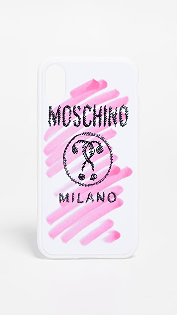Moschino Moschino iPhone XS / X 手机壳