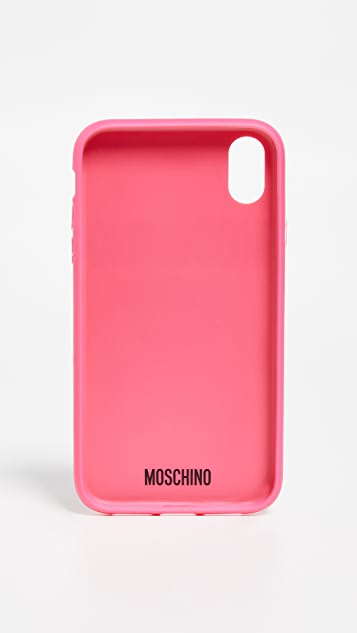 Moschino Moschino Bear iPhone XR Case