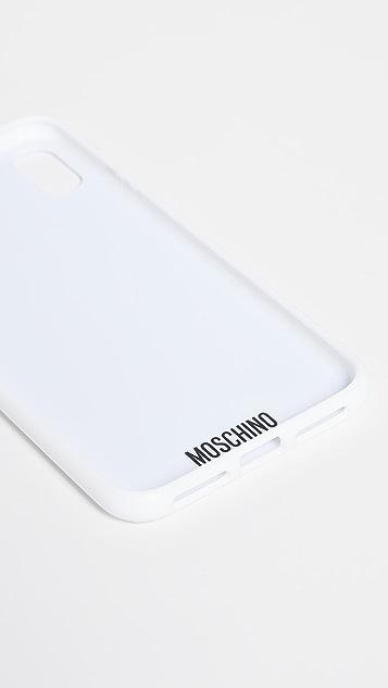 Moschino Чехол Moschino Max для iPhone XS