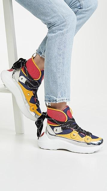 Moschino 高帮运动鞋