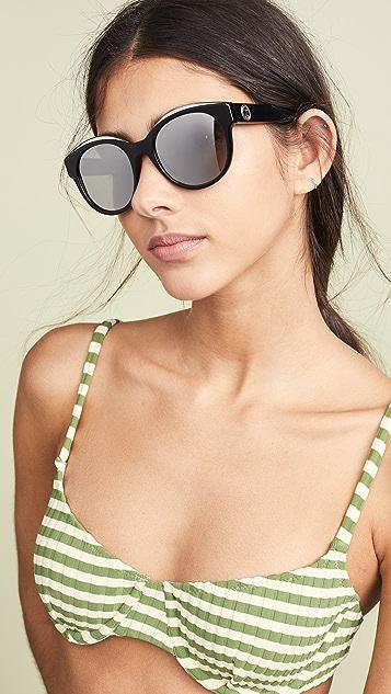 Moschino Круглые солнцезащитные очки