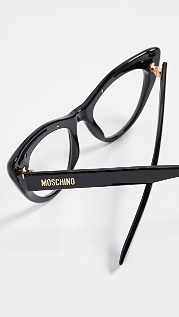 Moschino Cat Eye Glasses
