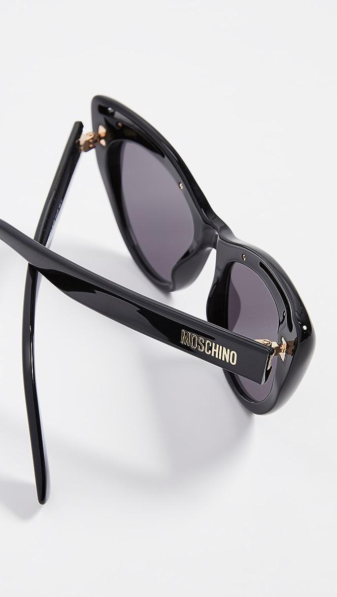 Cat Eye Sunglasses by Moschino
