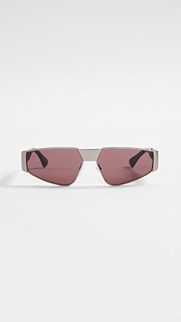 Moschino Sporty Metal Sunglasses