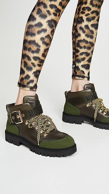 Moschino Армейские ботинки до щиколоток Moschino