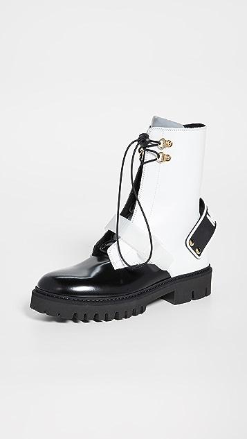 Moschino Pants Moschino Combat Boots