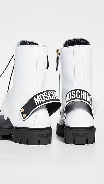 Moschino Армейские сапоги Moschino
