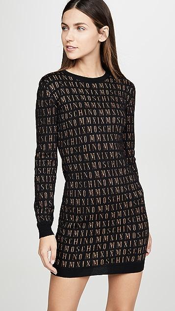 Moschino Moschino Sweater Dress