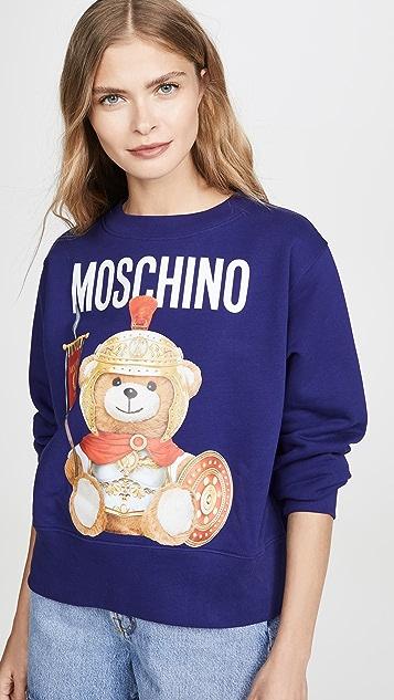 Moschino Moschino Bear Crew Neck