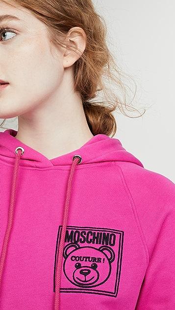 Moschino 小熊连帽衫