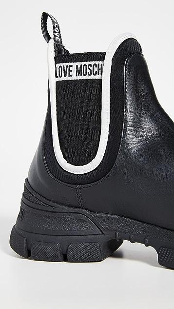 Moschino 切尔西靴