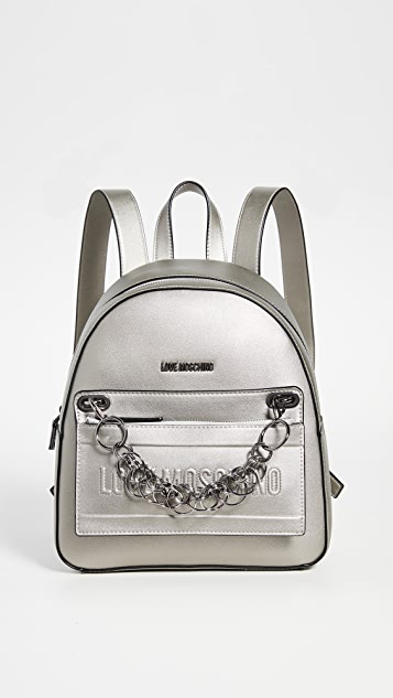 Moschino Love Moschino Chain Backpack