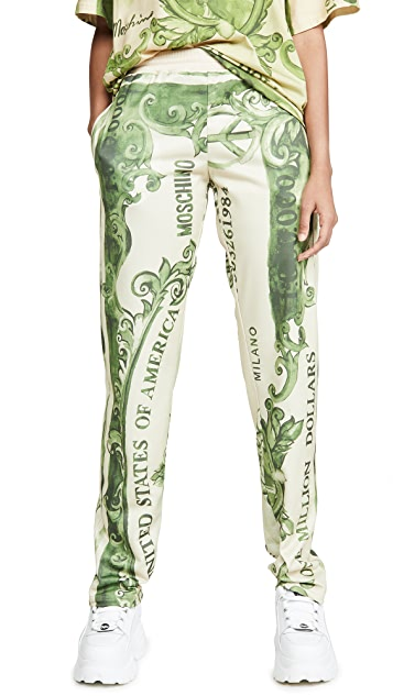 Moschino Dollar Bill Trousers