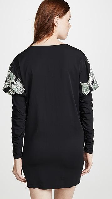 Moschino Teddy Bear Money T-Shirt Dress