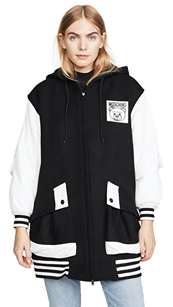 Moschino Long Varsity Jacket