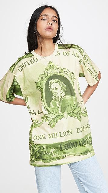 Moschino 美元 T 恤