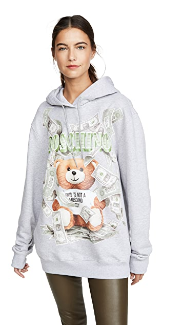 Moschino Teddy Money 运动衫