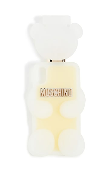 Moschino Fantasy Print White Phone Case