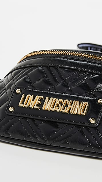 Moschino Quilted Belt Bag