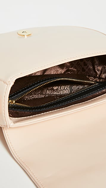 Moschino Quilted Saddle Bag