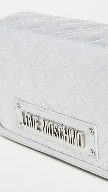 Moschino 绗缝迷你包